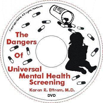 DVD The Dangers of Universal Mental Health Screening